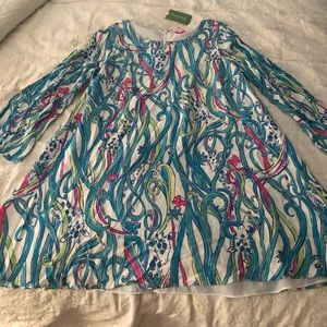 NWT Lilly Pulitzer Collette Tunic Dress Sz M